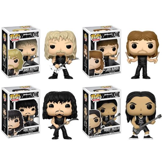 Picture of Metallica POP! Rocks Vinyl  PACK