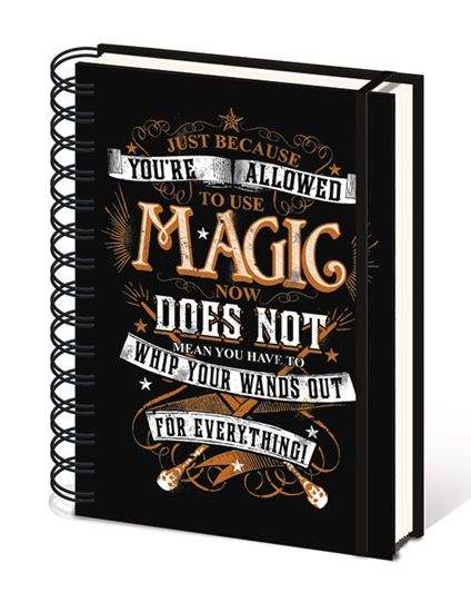 Picture of Harry Potter CUADERNO A5 MAGIC