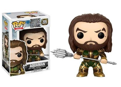 Picture of Justice League Movie POP! Movies Vinyl Figura Aquaman (Armored) 9 cm