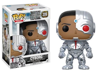 Picture of Justice League Movie POP! Movies Vinyl Figura Cyborg 9 cm