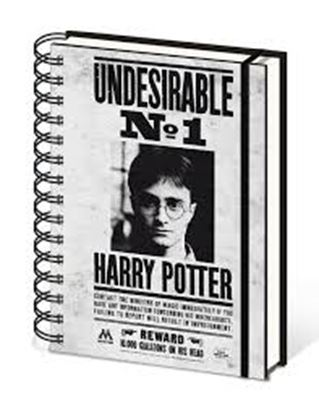 Picture of Harry Potter CUADERNO A5 UNDESIRABLE