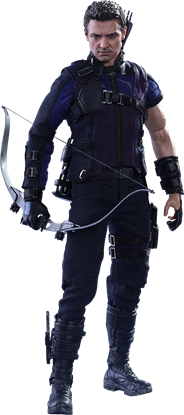 Picture of Captain America: Civil War - Movie Masterpiece Series 1/6 Hawkeye 30 cm