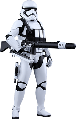 Imagen de Star Wars Episode VII Figura Movie Masterpiece 1/6 First Order Heavy Gunner Stormtrooper 30 cm