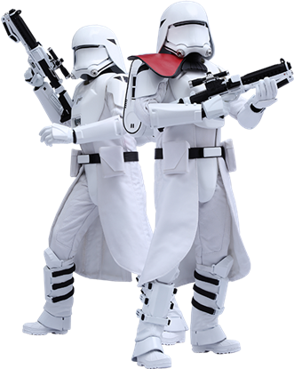 Imagen de Star Wars Episode VII Pack de 2 Figuras Movie Masterpiece 1/6 First Order Snowtroopers