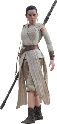 Imagen de Star Wars Episode VII Figura Movie Masterpiece 1/6 Rey 28 cm