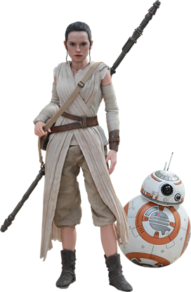 Picture of Star Wars Episode VII Pack de 2 Figuras Movie Masterpiece 1/6 Rey & BB-8