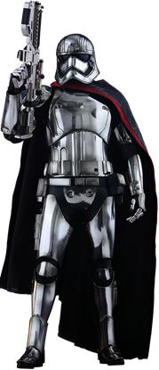 Imagen de Star Wars Episode VII Figura Movie Masterpiece 1/6 Captain Phasma 33 cm