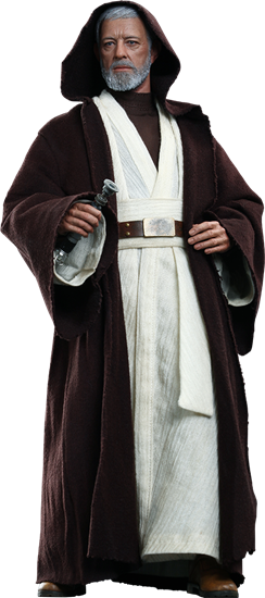 Foto de Star Wars Figura Movie Masterpiece 1/6 Obi-Wan Kenobi 30 cm