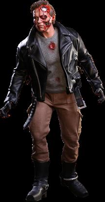 Picture of Terminator Figura Movie Masterpiece 1/6 T-800 Battle Damaged