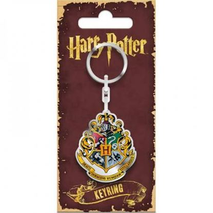 Picture of Harry Potter Llavero Metálico Hogwarts 5 cm