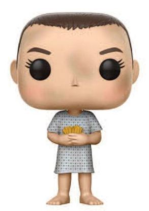Picture of Stranger Things POP! TV Vinyl Figura Eleven (Hospital Gown) 9 cm