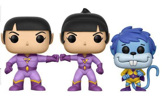 Picture of DC Comics Pack de 3 Figuras POP! Vinyl Wonder Twins Summer Convention Exclusive 9 cm