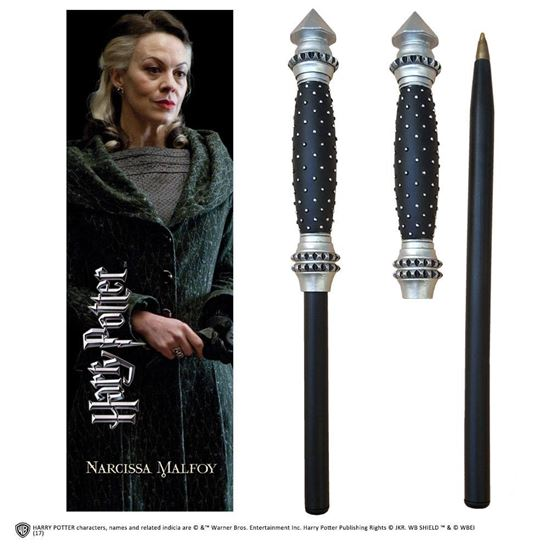 Picture of Bolígrafo Varita y Marcapáginas Narcissa Malfoy - Harry Potter