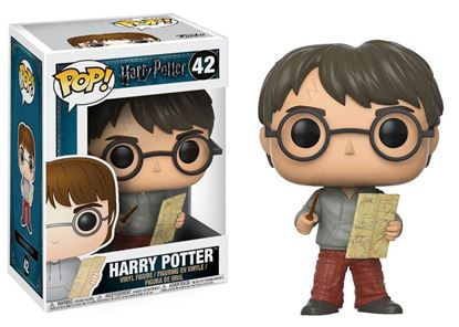 Picture of Harry Potter POP! Movies Vinyl Figura Harry Potter con Mapa del Merodeador 9 cm