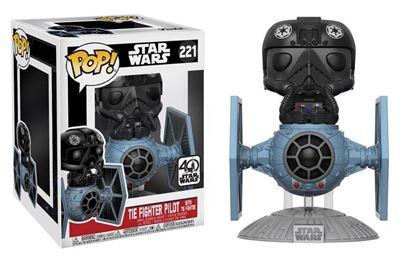 Picture of Star Wars POP! Vinyl Cabezón Tie Fighter with Tie Pilot 15 cm