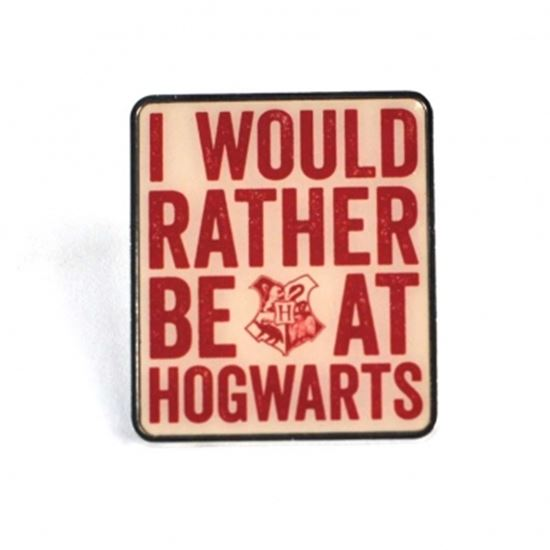 Picture of Harry Potter Pin Hogwarts Slogan