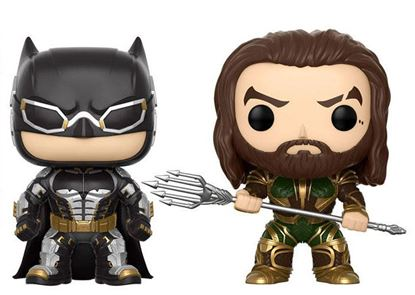 Picture of Justice League Movie Pack de 2 POP! Marvel Vinyl Figuras Batman & Aquaman 9 cm(LAS FECHAS DE LOS PREPEDIDOS SON ORIENTATIVAS. PUEDE RETRASARSE LA SALIDA DEL PRODUCTO.)