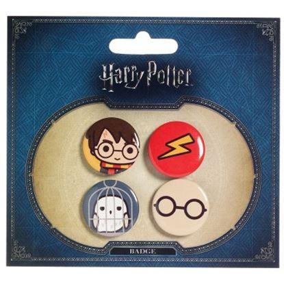 Picture of Harry Potter Set de Chapas Chibis