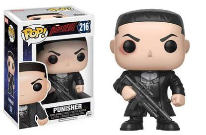Picture of Daredevil POP! Marvel Vinyl Cabezónes Punisher 9 cm