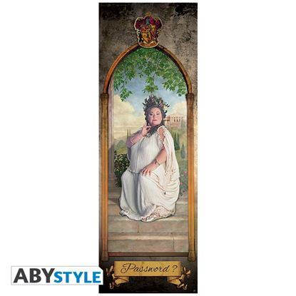 "Picture of Póster de Puerta ""The Fat Lady"" - Harry Potter"