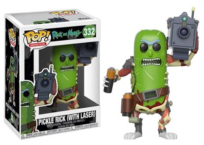 Imagen de Rick y Morty POP! Animation Vinyl Figura Pickle Rick with Laser 9 cm