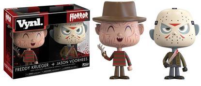 Picture of Freddy vs. Jason Pack de 2 VYNL Vinyl Figuras Freddy & Jason 10 cm(LAS FECHAS DE LOS PREPEDIDOS SON ORIENTATIVAS. PUEDE RETRASARSE LA SALIDA DEL PRODUCTO.)