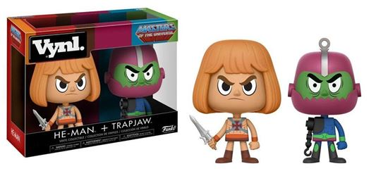 Picture of Masters of the Universe Pack de 2 VYNL Vinyl Figuras He-Man & Trap Jaw 10 cm
