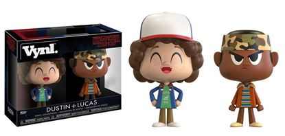 Picture of Stranger Things Pack de 2 VYNL Vinyl Figuras Dustin & Lukas 10 cm