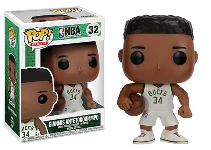 Picture of NBA POP! Sports Vinyl Figura Giannis Antetokounmpo (Milwaukee Bucks) 9 cm