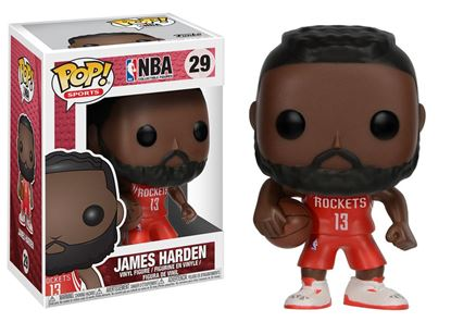 Picture of NBA POP! Sports Vinyl Figura James Harden (Houston Rockets) 9 cm DISPONIBLE APROX: JULIO 2019