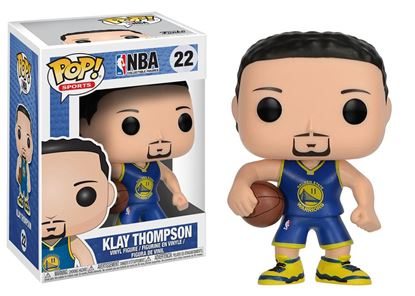 Picture of NBA POP! Sports Vinyl Figura Klay Thompson (Golden State Warriors) 9 cm DISPONIBLE APROX: ABRIL 2018
