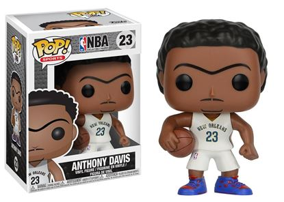 Picture of NBA POP! Sports Vinyl Figura Anthony Davis (New Orleans Pelicans) 9 cm DISPONIBLE APROX:ABRIL 2018