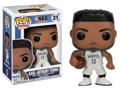 Picture of NBA POP! Sports Vinyl Figura Karl-Anthony Towns (Minnesota Timberwolves) 9 cm DISPONIBLE APROX: ABRIL 2018
