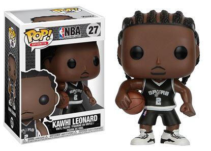 Picture of NBA POP! Sports Vinyl Figura Kawhi Leonard (San Antonio Spurs) 9 cm DISPONIBLE APROX: ABRIL 2018