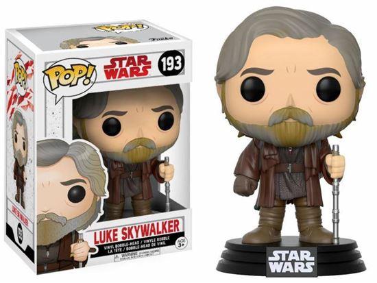 Picture of Star Wars Episode VIII POP! Vinyl Cabezón Luke Skywalker 9 cm
