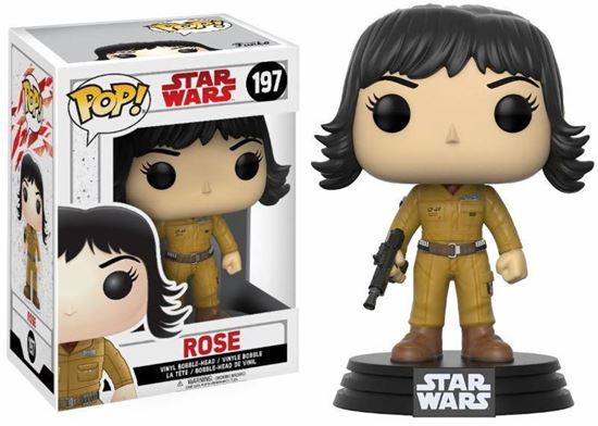 Picture of Star Wars Episode VIII POP! Vinyl Cabezón Rose 9 cm