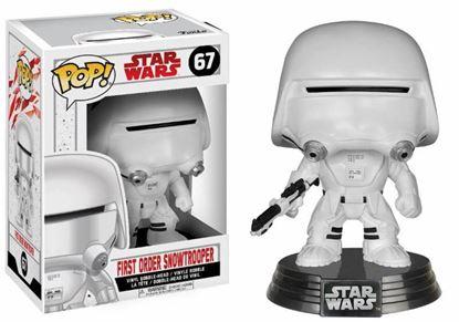 Picture of Star Wars Episode VIII POP! Vinyl Cabezón First Order Snowtrooper 9 cm(LAS FECHAS DE LOS PREPEDIDOS SON ORIENTATIVAS. PUEDE RETRASARSE LA SALIDA DEL PRODUCTO.)