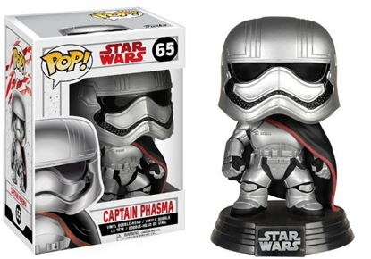 Picture of Star Wars Episode VIII POP! Vinyl Cabezón Captain Phasma 9 cm