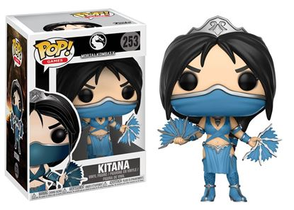 Picture of Mortal Kombat POP! Games Vinyl Figura Kitana 9 cm