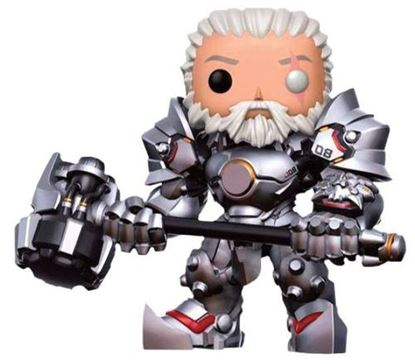 Picture of FIGURA POP OVERWATCH: REINHARDT UNMASKED