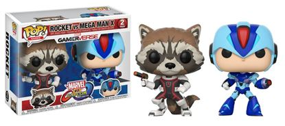 Picture of Marvel vs. Capcom Infinite POP! Games Vinyl Pack de 2 Figuras Rocket vs. Mega Man X 9 cm