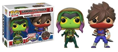 Picture of Marvel vs. Capcom Infinite POP! Games Vinyl Pack de 2 Figuras Gamora Vs. Strider 9 cm