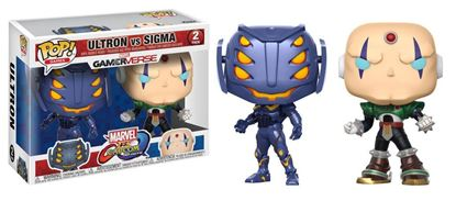 Picture of Marvel vs. Capcom Infinite POP! Games Vinyl Pack de 2 Figuras Ultron vs. Sigma 9 cm