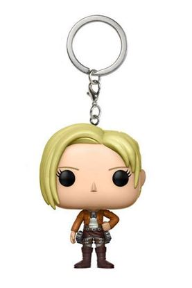 Imagen de Attack on Titan Llavero Pocket POP! Vinyl Annie Leonhart 4 cm