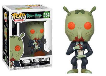 Picture of Rick y Morty POP! Animation Vinyl Figura Cornvelious Daniel 9 cm.
