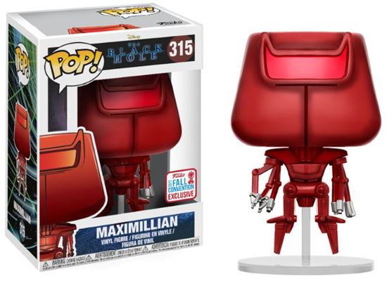 Picture of The Black Hole POP! Movies Vinyl Figura Maximillian 2017 Fall Convention Exclusive 9 cm