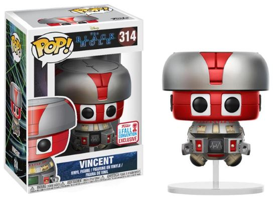 Picture of The Black Hole POP! Movies Vinyl Figura Vincent 2017 Fall Convention Exclusive 9 cm