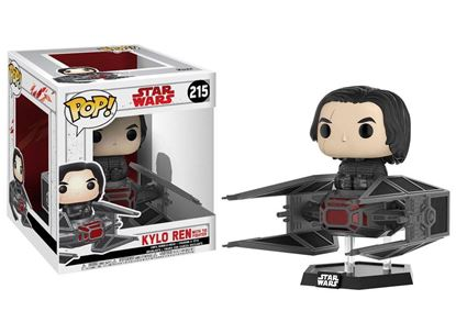 Picture of Star Wars Episode VIII POP! Vinyl Cabezón Kylo Ren on Tie Fighter 10 cm