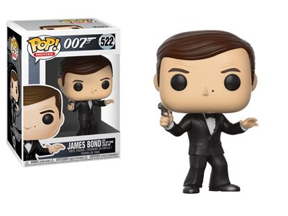 Picture of James Bond POP! Movies Vinyl Figura Roger Moore 9 cm.