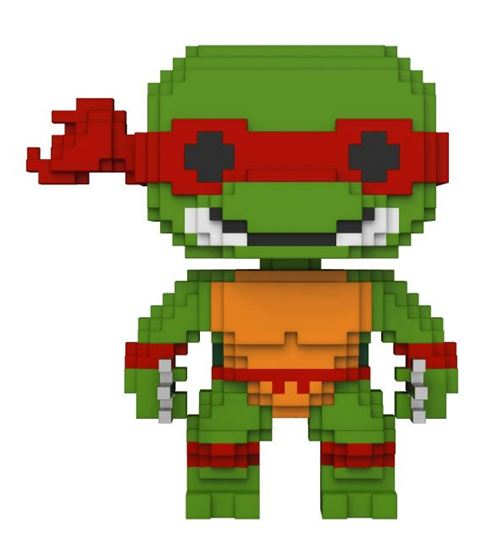 Picture of Tortugas Ninja 8-Bit POP! Vinyl Figura Raphael 9 cm